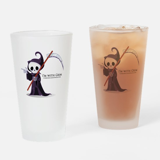Grim rules Drinking Glass