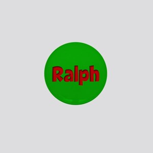 Ralph Green and Red Mini Button