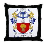 Jopp Coat of Arms Throw Pillow