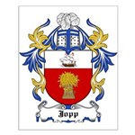 Jopp Coat of Arms Small Poster