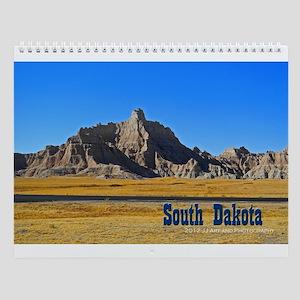 Images Of South Dakota Wall Calendar