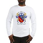Johns Coat of Arms Long Sleeve T-Shirt