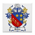 Johns Coat of Arms Tile Coaster