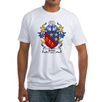 Johns Coat of Arms Fitted T-Shirt