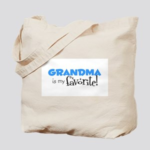 Grandma is my Favorite Tote Bag