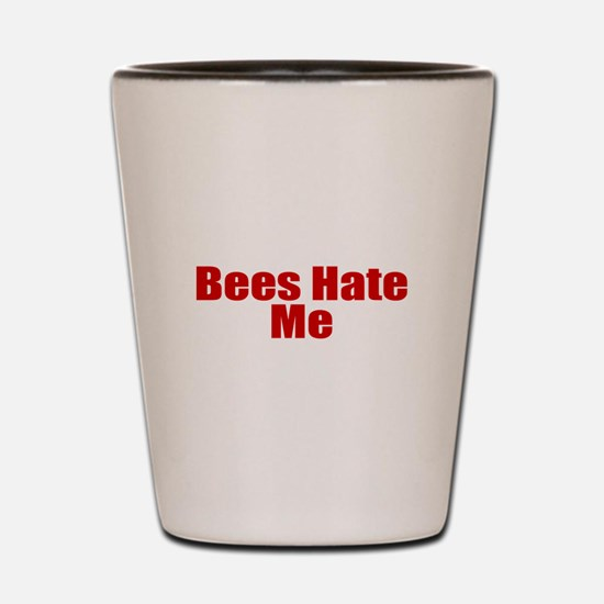 Bees Hate Me Shot Glass