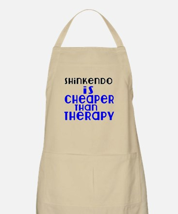Shinkendo Is Cheaper Than Therapy Light Apron
