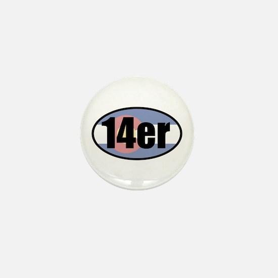 Colorado 14ers Mini Button