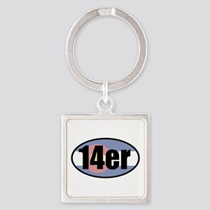 Colorado 14ers Keychains