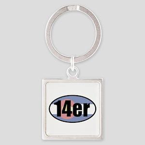 Colorado 14ers Keychains