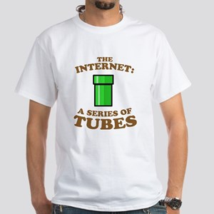 The internet: a series of tub White T-Shirt