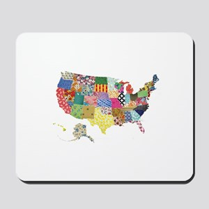 Everything Mapped America Mousepad