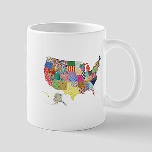Everything Mapped America Mug