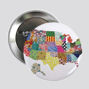 "Everything Mapped America 2.25"" Button"