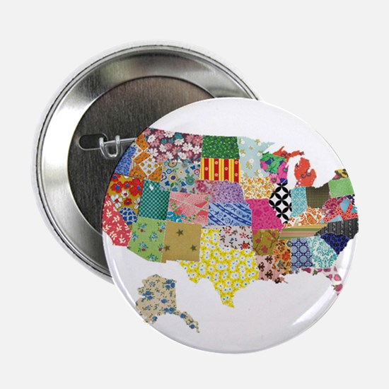 """Everything Mapped America 2.25"""" Button"""