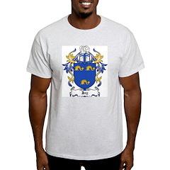 Jay Coat of Arms Ash Grey T-Shirt