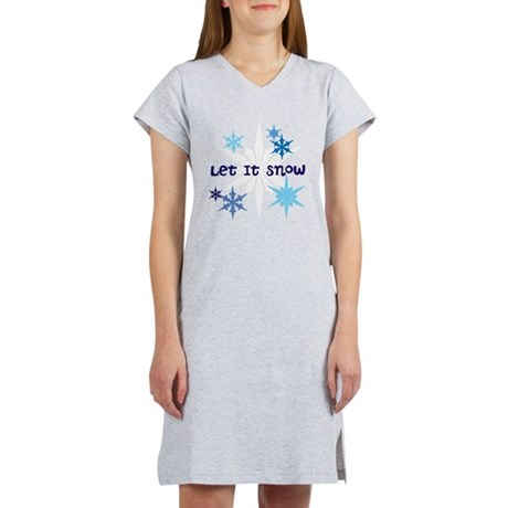 Let It Snow Women's Nightshirt