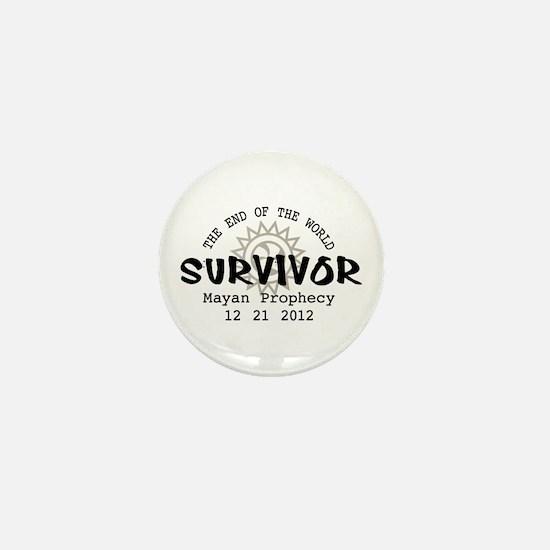 End of the World Survivor 2012 Mini Button