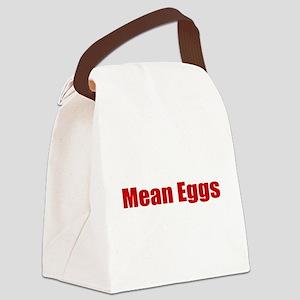 Mean Eggs Canvas Lunch Bag