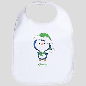 Cheery Penguin Bib