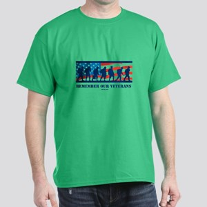 Remember Our Veterans Dark T-Shirt