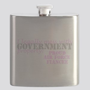 Air Force Fiancee Government Property Flask