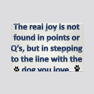 The Real Joy... Rectangle Magnet