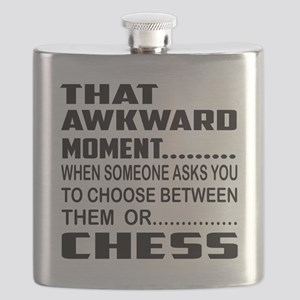 That Awkward Moment... Chess Flask