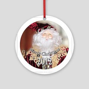 Santa Circle.png Ornament (Round)