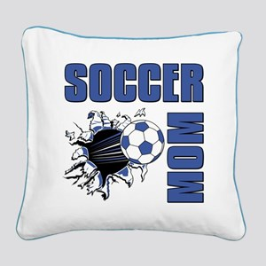 Soccer Mom Square Canvas Pillow