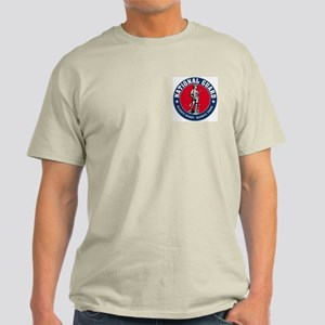 National Guard Logo Ash Grey T-Shirt