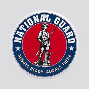 National Guard Logo Ornament (Round)