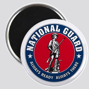 National Guard Logo Magnet