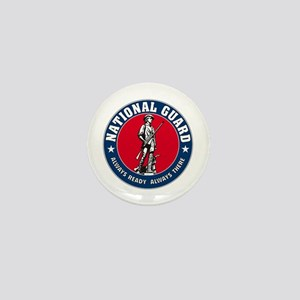 National Guard Logo Mini Button