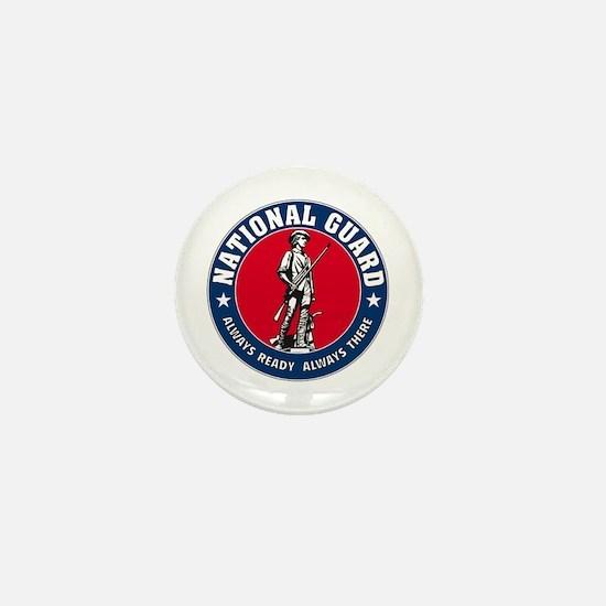 National Guard Logo Mini Button