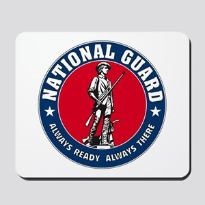 National Guard Logo Mousepad