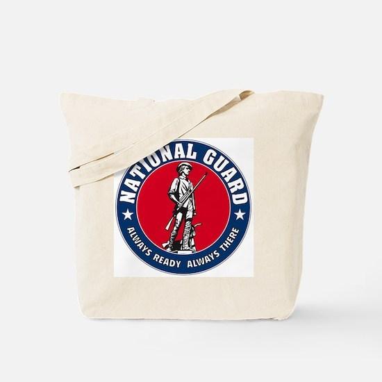 National Guard Logo (2-sided) Tote Bag