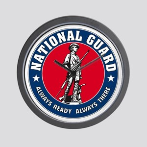 National Guard Logo Wall Clock