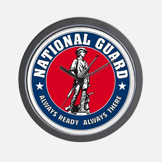 National Guard Logo Wall Clock