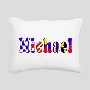 Gift for Michael Rectangular Canvas Pillow
