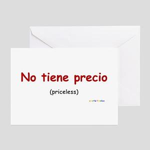 Priceless (Spanish) Greeting Cards (Pk of 10)
