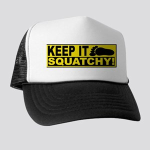AUTHENTIC Bobo KEEP IT SQUATCHY Trucker Hat
