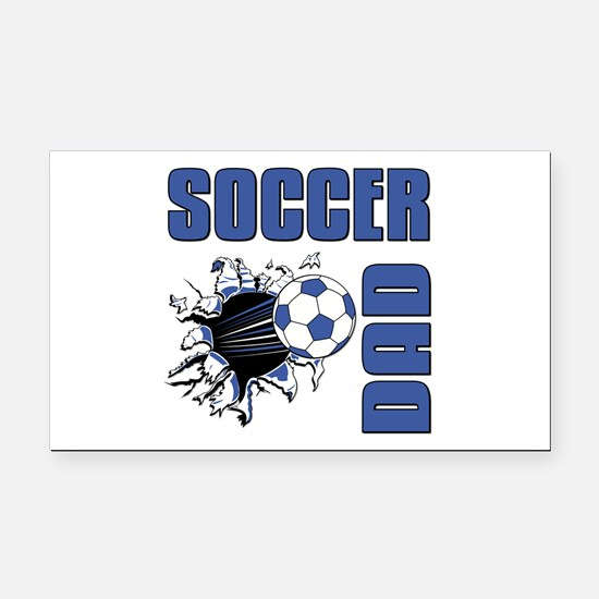 Soccer Dad Rectangle Car Magnet