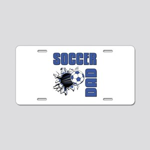 Soccer Dad Aluminum License Plate