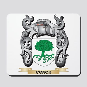 Conor Family Crest - Conor Coat of Arms Mousepad