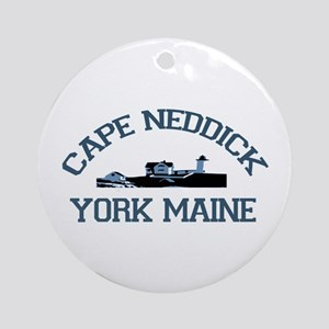 Cape Neddick ME. Ornament (Round)