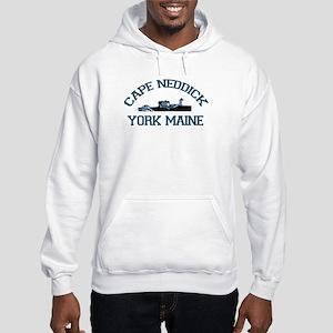 Cape Neddick ME. Hooded Sweatshirt