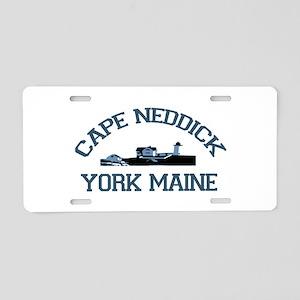 Cape Neddick ME. Aluminum License Plate