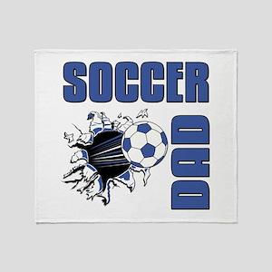 Soccer Dad Throw Blanket