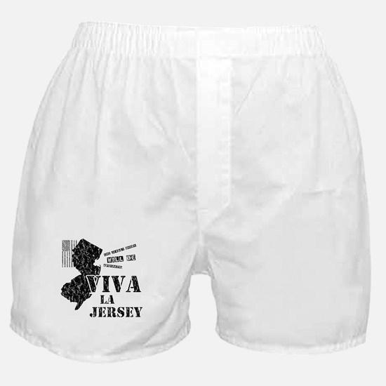 Viva La Jersey Boxer Shorts